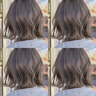 前髪あり デート オフィス 大人かわいい ヘアスタイルや髪型の写真・画像