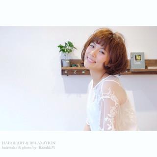 フェミニン デート オフィス 女子会 ヘアスタイルや髪型の写真・画像