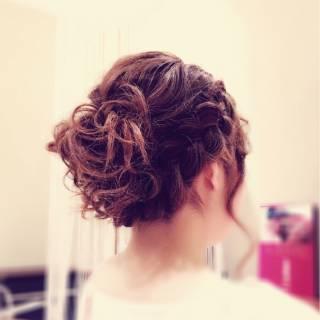 モテ髪 ゆるふわ 結婚式 愛され ヘアスタイルや髪型の写真・画像