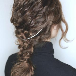 モード 愛され 大人かわいい セミロング ヘアスタイルや髪型の写真・画像