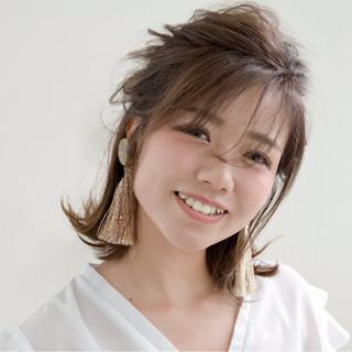 女子会 秋 デート ナチュラル ヘアスタイルや髪型の写真・画像