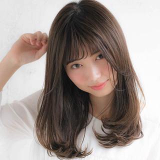 前髪あり フェミニン デート 大人かわいい ヘアスタイルや髪型の写真・画像