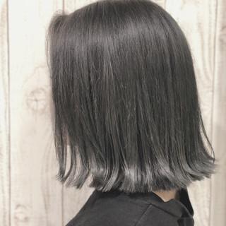 春ヘア ストリート 透明感カラー ボブ ヘアスタイルや髪型の写真・画像