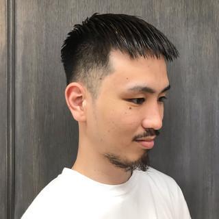 メンズカラー ストリート ショートヘア ベリーショート ヘアスタイルや髪型の写真・画像