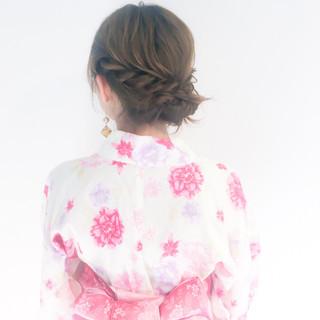 ヘアアレンジ デート 簡単ヘアアレンジ お祭り ヘアスタイルや髪型の写真・画像
