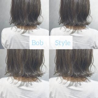 切りっぱなしボブ ボブ ショートヘア ウルフカット ヘアスタイルや髪型の写真・画像