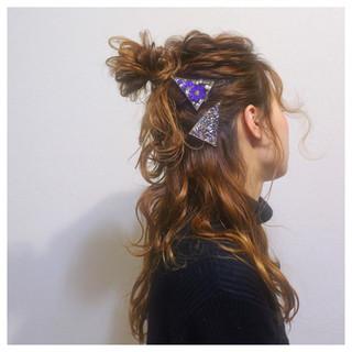 ショート セミロング ロング ストリート ヘアスタイルや髪型の写真・画像