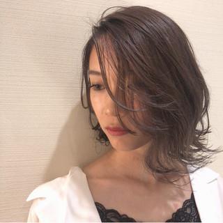 外国人風 透明感 ハイライト デート ヘアスタイルや髪型の写真・画像