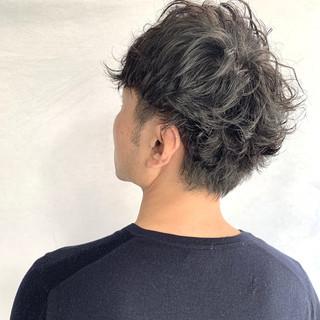 ショート メンズスタイル メンズパーマ ナチュラル ヘアスタイルや髪型の写真・画像