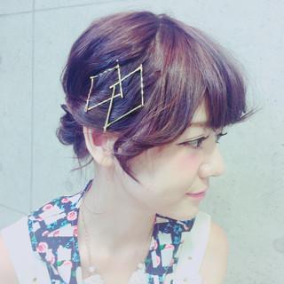 ゆるふわ フェミニン 夏 レイヤーカット ヘアスタイルや髪型の写真・画像
