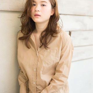 パーマ 外国人風 モテ髪 夏 ヘアスタイルや髪型の写真・画像