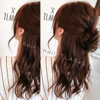 大人かわいい セミロング ショート 秋 ヘアスタイルや髪型の写真・画像