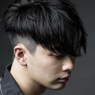 メンズスタイル ショート モード ショートヘア ヘアスタイルや髪型の写真・画像