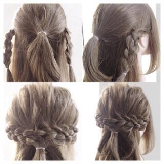 ロング ショート ガーリー 女子会 ヘアスタイルや髪型の写真・画像