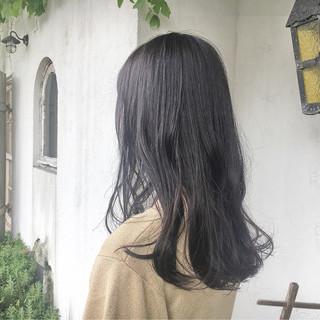 大人女子 秋 透明感 ロング ヘアスタイルや髪型の写真・画像