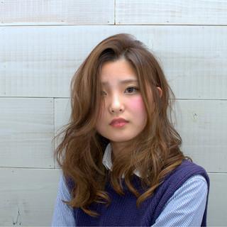ゆるふわ フェミニン 大人かわいい コンサバ ヘアスタイルや髪型の写真・画像