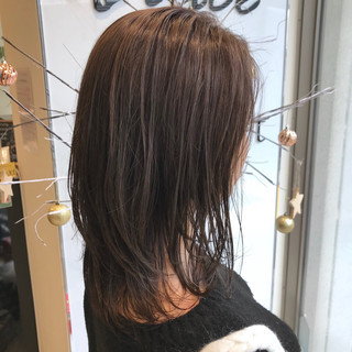 ハイライト 外国人風カラー アッシュ グレージュ ヘアスタイルや髪型の写真・画像