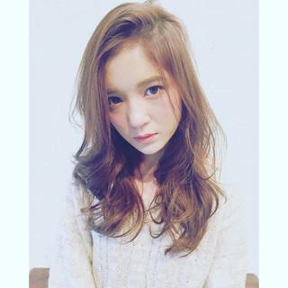 外国人風 かき上げ前髪 アッシュ 外国人風カラー ヘアスタイルや髪型の写真・画像