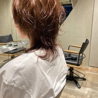 ストリート マッシュウルフ ウルフパーマ ショート ヘアスタイルや髪型の写真・画像