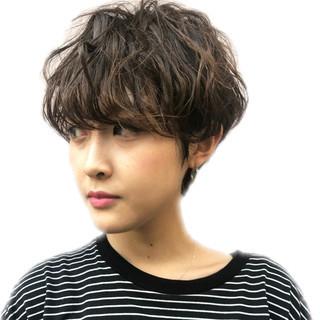 ショート 小顔ショート ショートヘア 大人ショート ヘアスタイルや髪型の写真・画像