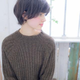 黒髪 ショート 小顔 ボブ ヘアスタイルや髪型の写真・画像