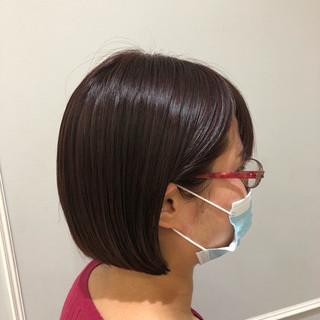 ピンクブラウン おしゃれ ベリーピンク 髪質改善トリートメント ヘアスタイルや髪型の写真・画像