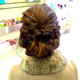 モテ髪 ゆるふわ コンサバ ヘアアレンジ ヘアスタイルや髪型の写真・画像