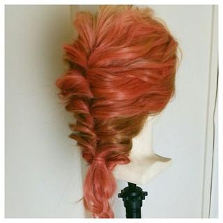 くるりんぱ ショート 外国人風 ロング ヘアスタイルや髪型の写真・画像