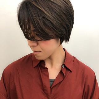 オフィス ハイライト ナチュラル 似合わせ ヘアスタイルや髪型の写真・画像