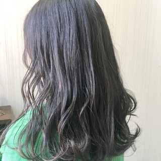 秋 ウェーブ デート ナチュラル ヘアスタイルや髪型の写真・画像