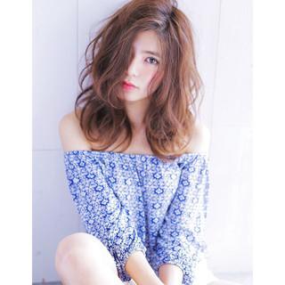 ブラウン 外国人風 アッシュ 大人かわいい ヘアスタイルや髪型の写真・画像