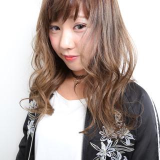 前髪あり ストリート 外国人風 ロング ヘアスタイルや髪型の写真・画像
