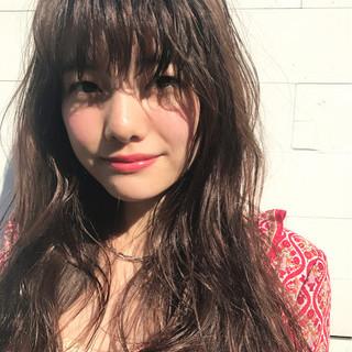 パーマ ガーリー 外国人風 アッシュ ヘアスタイルや髪型の写真・画像