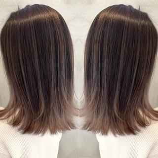 ミルクティー ラベンダーピンク エレガント ミルクティーベージュ ヘアスタイルや髪型の写真・画像