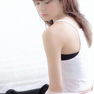 前髪あり ふわふわ ロング 透明感 ヘアスタイルや髪型の写真・画像