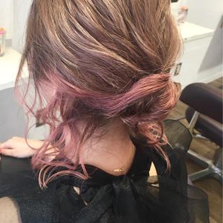 二次会 エレガント ヘアアレンジ 上品 ヘアスタイルや髪型の写真・画像