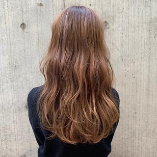 モテ髪 パーマ フェミニン ロング ヘアスタイルや髪型の写真・画像