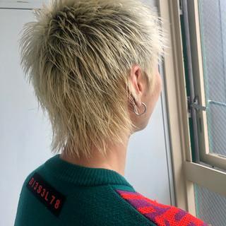 メンズショート ストリート メンズヘア ショート ヘアスタイルや髪型の写真・画像
