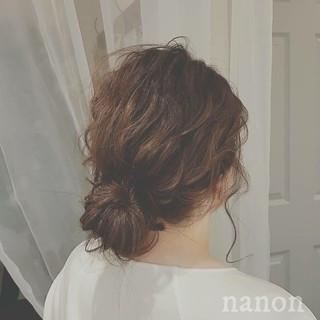 フェミニン ゆるふわ デート 大人かわいい ヘアスタイルや髪型の写真・画像