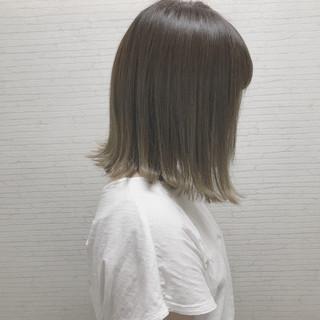 ハイライト 外国人風 ボブ 外ハネ ヘアスタイルや髪型の写真・画像