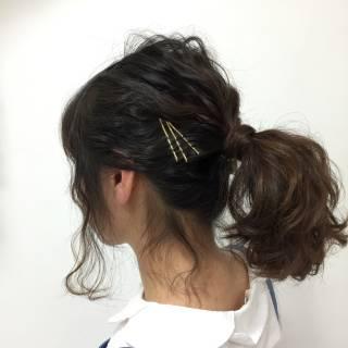 愛され モテ髪 ボブ コンサバ ヘアスタイルや髪型の写真・画像