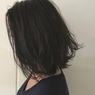 ロブ ボブ 大人かわいい ストリート ヘアスタイルや髪型の写真・画像