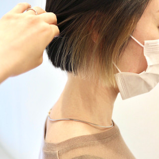 ミニボブ ストリート ショート ショートヘア ヘアスタイルや髪型の写真・画像