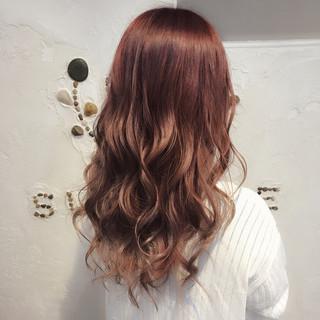 ゆるふわ ガーリー リラックス ロング ヘアスタイルや髪型の写真・画像