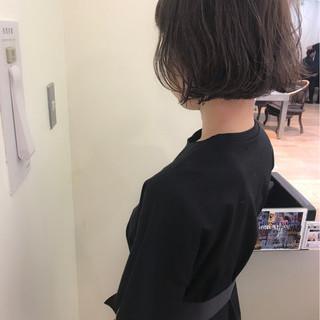 透明感 パーマ デート ハイライト ヘアスタイルや髪型の写真・画像