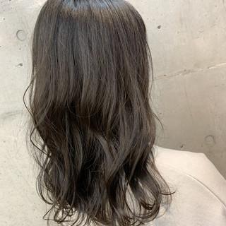 ロング ナチュラル 秋 デート ヘアスタイルや髪型の写真・画像