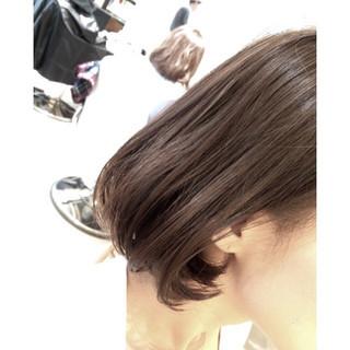アッシュ 色気 ハイライト 外国人風 ヘアスタイルや髪型の写真・画像
