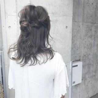リラックス ナチュラル アンニュイ 女子会 ヘアスタイルや髪型の写真・画像