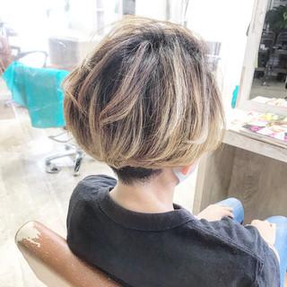 ウルフカット ナチュラル ベリーショート ショートヘア ヘアスタイルや髪型の写真・画像