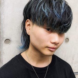 マッシュウルフ ナチュラル メンズスタイル メンズショート ヘアスタイルや髪型の写真・画像
